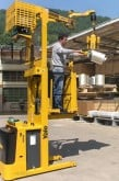 order picker and reel handling device