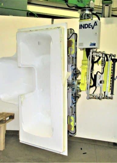 Con los manipuladores industriales de INDEVA, también será posible posicionar con precisión materiales pesados y frágiles como sanitarios y duchas, además de permitir a los operarios un mejor aprovechamiento de su tiempo y energía.