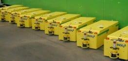 Veicoli a guida automatica INDEVA Tunnel AGV