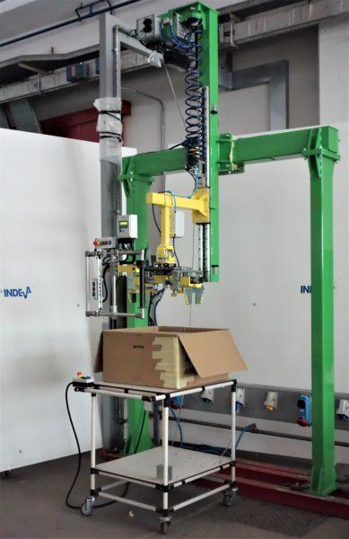 Fácil empaquetado de los acondicionadores con las soluciones