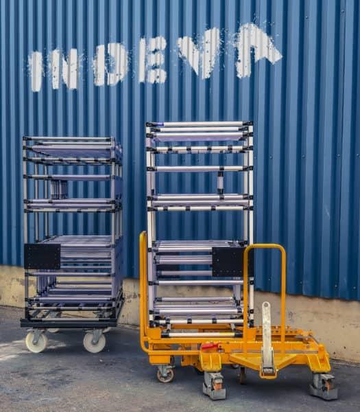 Una amplia gama de sistemas intralogísticos para satisfacer las necesidades de transporte de una gran variedad de mercancías