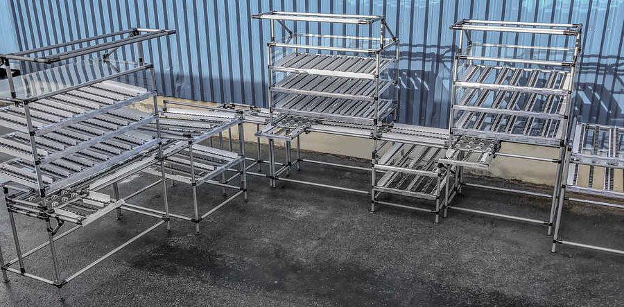 Nuestras bancos de trabajo permiten al operario alcanzar todos los componentes necesarios para llevar a cabo su trabajo, de una manera fácil y ergonómica, sin tener que agachar, mover o girarse