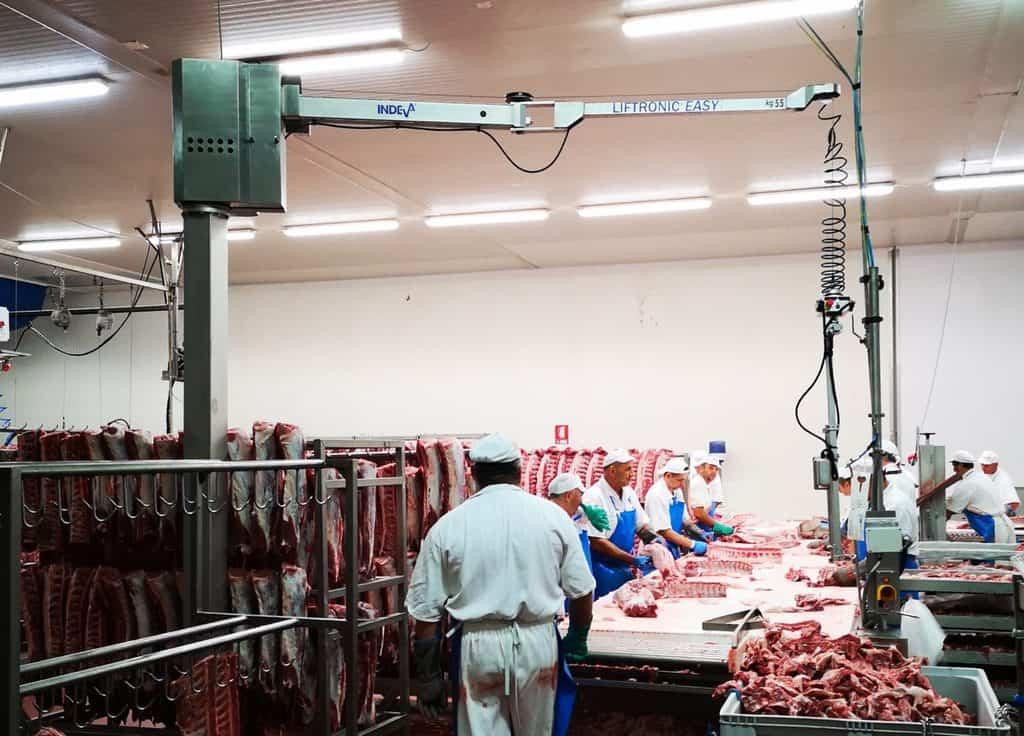 Manipulación de la carne
