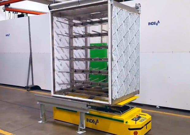 AGV para cargas de hasta 650 kg