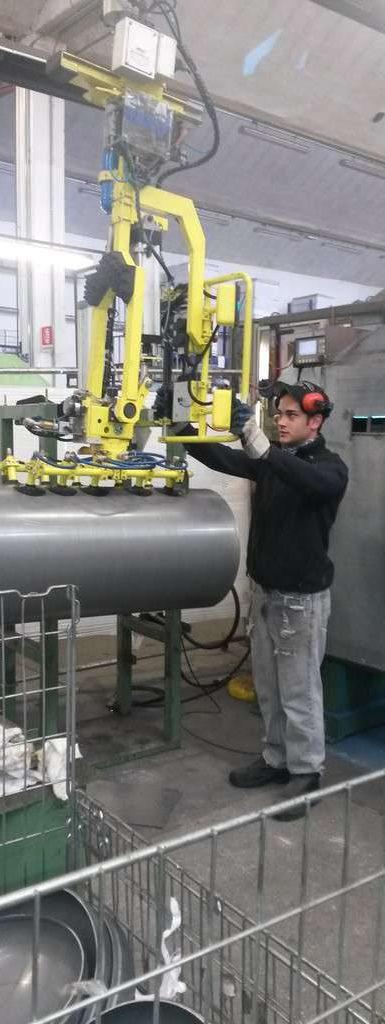 Ergonomía y seguridad en el desplazamiento manual de cilindros hidráulicos