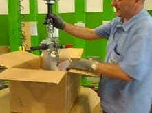 Elevar los sacos en condiciones de gravedad cero gracias a los sistemas de elevación inteligentes de INDEVA, tecnología punta a su servicio.