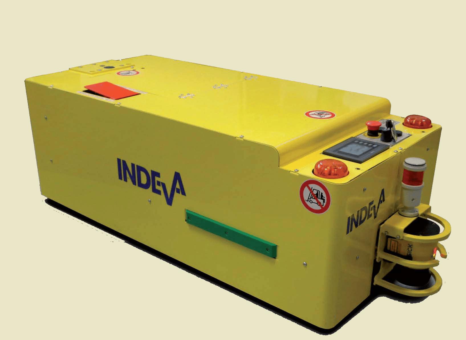 agv.indeva-tunnel - vehículos de guiado automático