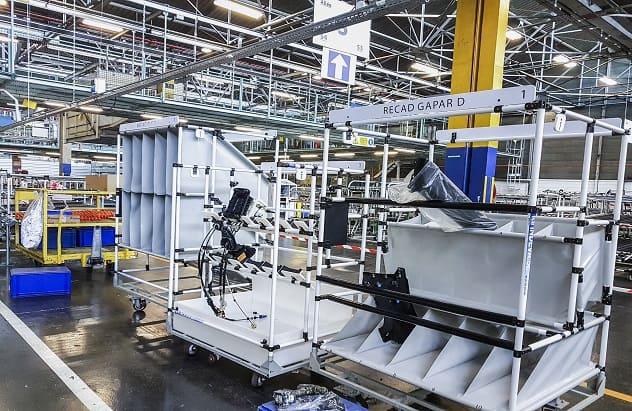 Indeva Lean System para aumentar la ergonomía y la seguridad en los procesos de producción