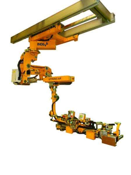 Liftronic Air manipulador bajo railes