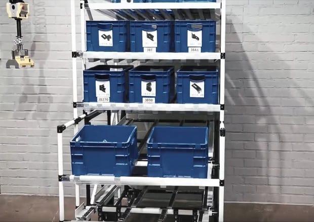 Estación de trabajo combinada con el carrito Shooter
